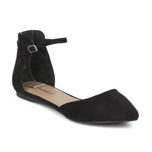 Breckelle's Dolley Ankle Strap Flat